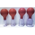Műanyag köpöly gumilabda-pumpával (PC)