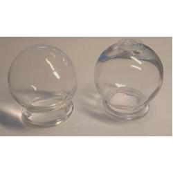Hagyományos közepes üvegköpölyök
