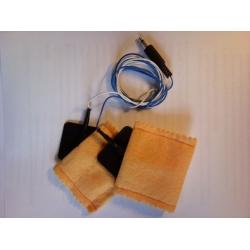 TENSEL elektródák köztianyag zsákkal, páciens kábellel (ME 2001)