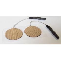 30mm-es öntapadós kör alakú elektródapár