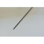 0,30x150mm-es steril, kínai, ezüstözött nyelű, egyszer használatos akupunktúrás tű
