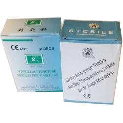 Kínai steril egyszerhasználatos akupunktúrás réz nyelű tű
