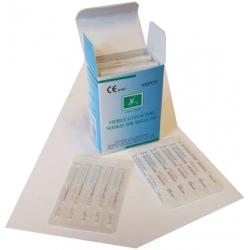0,30x50 Kínai, steril réznyelű akupunktúrás tű